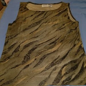 Chico's travelers tank top size 1